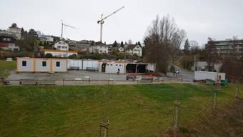 Für die Container bei der Geschützten Operationsstelle Muri hat der Gemeinderat die Bewilligung bis 30. April befristet erteilt.
