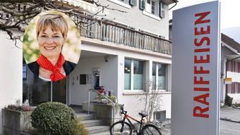 Cornelia Dippon ist Verwaltungsratspräsidentin der Raiffeisenbank Dünnerntal-Guldental.