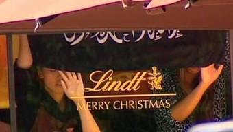 Das Lindt-Logo geht wegen der Geiselnahme um die Welt.