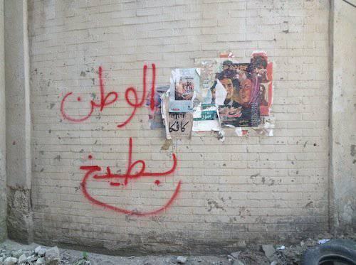 """Homeland ist Wassermelone"". (Bild: Heba Amin/www.hebaamin.com)"