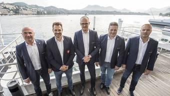 Die Spitzenfunktionäre von Swiss Ice Hockey präsentierten in Luzern ihren Saison-Ausblick