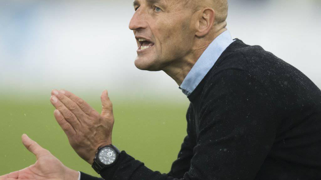 Peter Zeidler führte den FC Sion mit spektakulärem Spielstil in die Erfolgsspur zurück