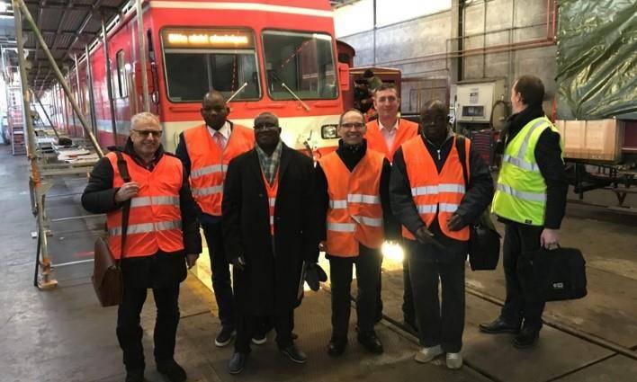 Eine Delegation aus Burkina Faso und der Elfenbeinküste begutachtete die Züger der Appenzeller Bahnen im Februar dieses Jahres.