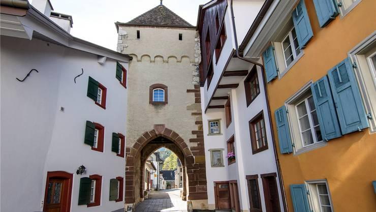 Der Eintritt durchs Törli in Waldenburgs Altstadt ist pittoresk, was nachher folgt, teils weniger.