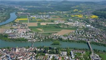 Für das Zielbild 2040+ werden im kommenden Jahr Testplanungen für das Sisslerfeld erstellt. Bild: Gerry Thönen (14.5.2013)