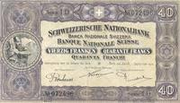 Die 40er Note aus dem Jahr 1911.