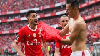 Benfica jubelte am Samstagabend vorzeitig über den Titelgewinn in Portugal