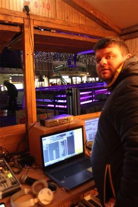 Daniel Wisard alias DJ Horse sorgt für den richtigen Sound.