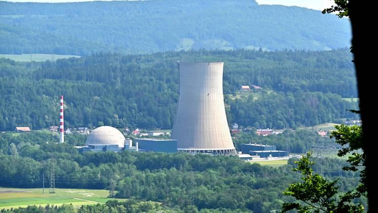 Im Kernkraftwerk Gösgen steht die Jahresrevision an. (Archiv)
