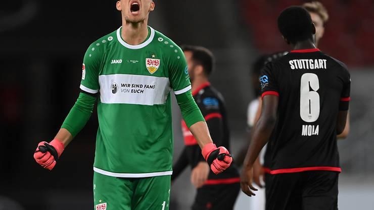 Gregor Kobel bleibt voraussichtlich in Stuttgart