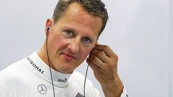 """Der schwer verunfallte deutsche Formel-1-Weltmeister Michael Schumacher erhält von der Zeitschrift """"Bunte"""" 50'000 Euro Entschädigung wegen Verletzung seiner Persönlichkeitsrechte. (Archiv)"""