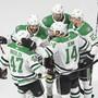 Die Dallas Stars freuen sich über den Einzug in den Stanley-Cup-Final