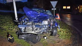 Verkehrsunfall in Pfaffnau LU (29.01.2020)