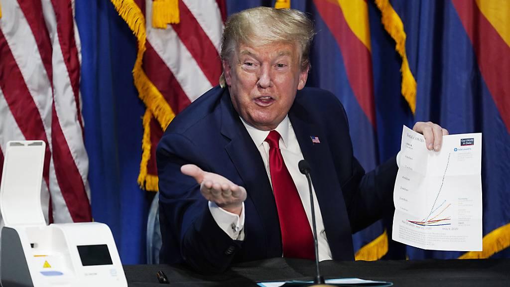 Trump weitet vorübergehenden Einwanderungsstopp in die USA aus