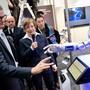 Die Hannover Messe wollte in diesem Jahr vor allem neue Technologien für mehr Klimaschutz, den jüngsten Stand beim 5G-Mobilfunkstandard und datengesteuerte künstliche Intelligenz zeigen. (Archivbild)