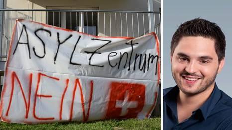 «Asylsuchende sind doch keine Krankheit!» Cédric Wermuth über die Proteste gegen die geplante Asylunterkunft in Aarburg.