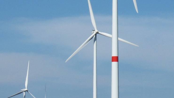 Das Bundesamt für Energie plant im Aargau Windparks.