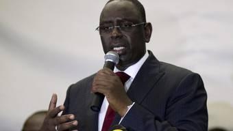 Macky Sall hat die Wahl in Senegal für sich entschieden