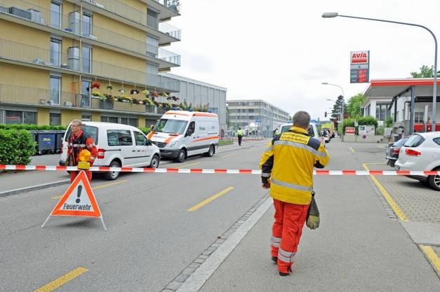 Bombenalarm in Zürich-Seebach