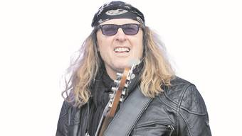 Der Rocker vom Dienst: Chris von Rohr.