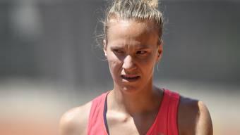 Viktorija Golubic erreichte in Biel souverän die Halbfinals