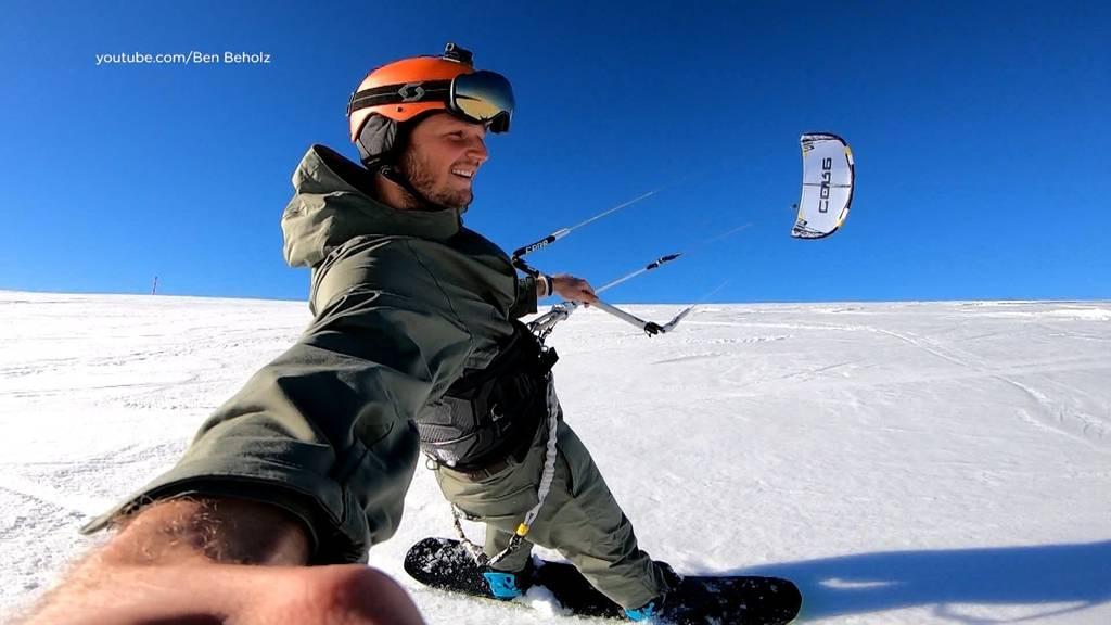 Winter extrem: Auf der Jagd nach Wind und Schnee