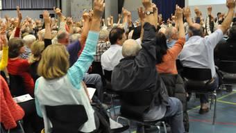 In fünf Gemeinden versammelten sich die Stimmberechtigten.