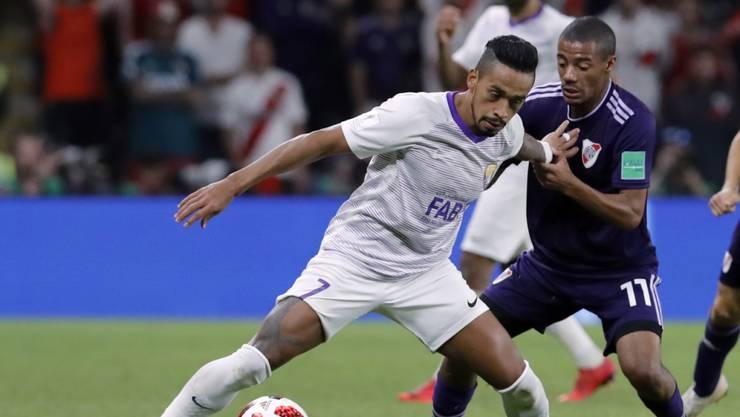 Caio (links) erzielte für Al Ain den Ausgleich zum 2:2