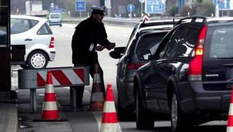 Grenzkontrolle in Weil am Rhein (Archiv)