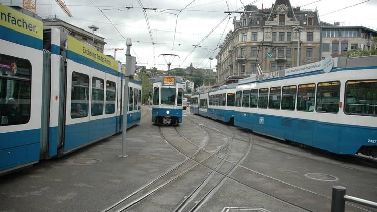 Der Zürcher Kantonsrat hat über den Verkehrsfonds entschieden. (Symbolbild)