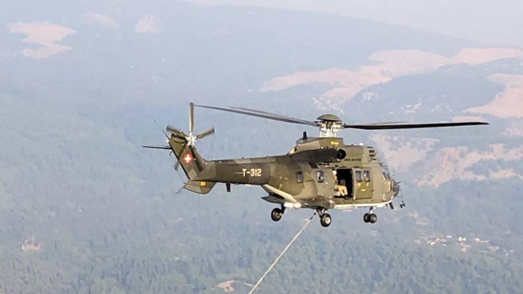 Der Einsatz der Humanitären Hilfe des Bundes und der Schweizer Armee zur Bekämpfung der Brände in Griechenland ist abgeschlossen.