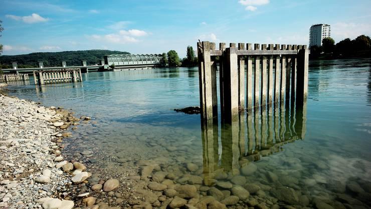 Das Rheinwasser wird nach der Katastrophe 1986 von der Messstation überwacht.