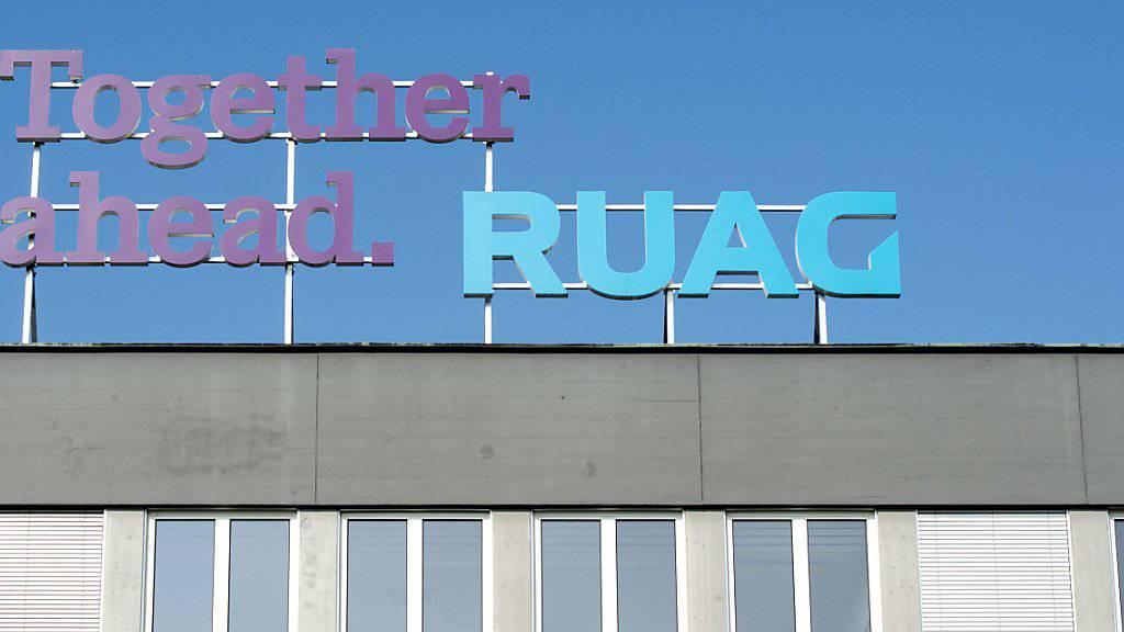 Bei einer Cyberattacke auf den Schweizer Rüstungskonzern Ruag stahlen Unbekannte mehr als 20 Gigabyte Daten. Der Diebstahl wurde 2016 publik. (Symbolbild)