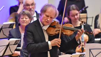 Stadtorchester Olten mit Stargeiger Alexandre Dubach