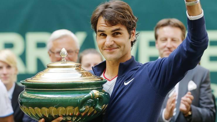 Gerne kehrt Federer immer wieder nach Deutschland zurück.