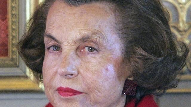 Liliane Bettencourt muss zum Verhör (Archiv)