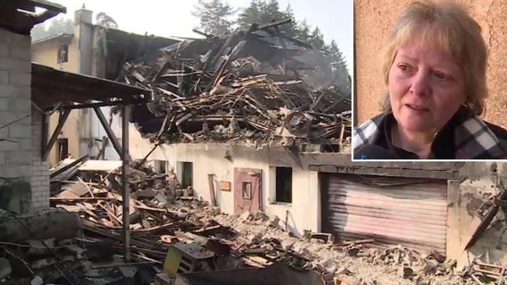 Susanne Blum: «Das Gebäude kann man ja wieder aufbauen. Doch der Verlust der Tiere ist sehr schmerzhaft.»