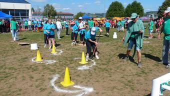 Aargauer Meisterschaft im Behindertensport