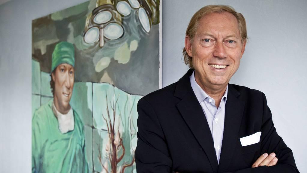 Prof. Dr. Dr. Werner Mang, Chefarzt der Bodenseeklinik Lindau