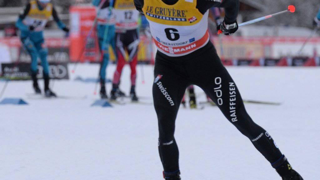 Dario Cologna präsentiert sich an der Tour de Ski weiterhin in sehr guter Form