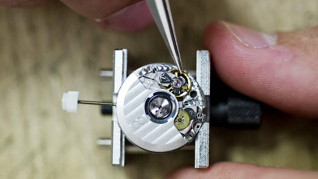 """Uhren """"Made in Switzerland"""" sind beliebt - vor allem auch im wichtigen Markt China. (Archivbild)"""