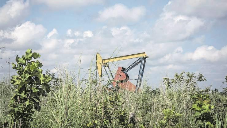 Ein Pumpenheber des venezolanischen Erdölkonzerns PDVSA, welcher im Visier der Justiz ist. Bloomberg