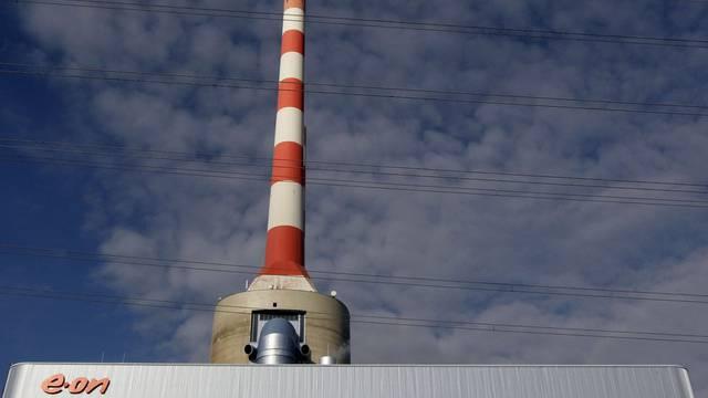 Schwere Zeiten ohne Atomstrom: Gas-Kombi-Kraftwerk von E. ON (Archiv)