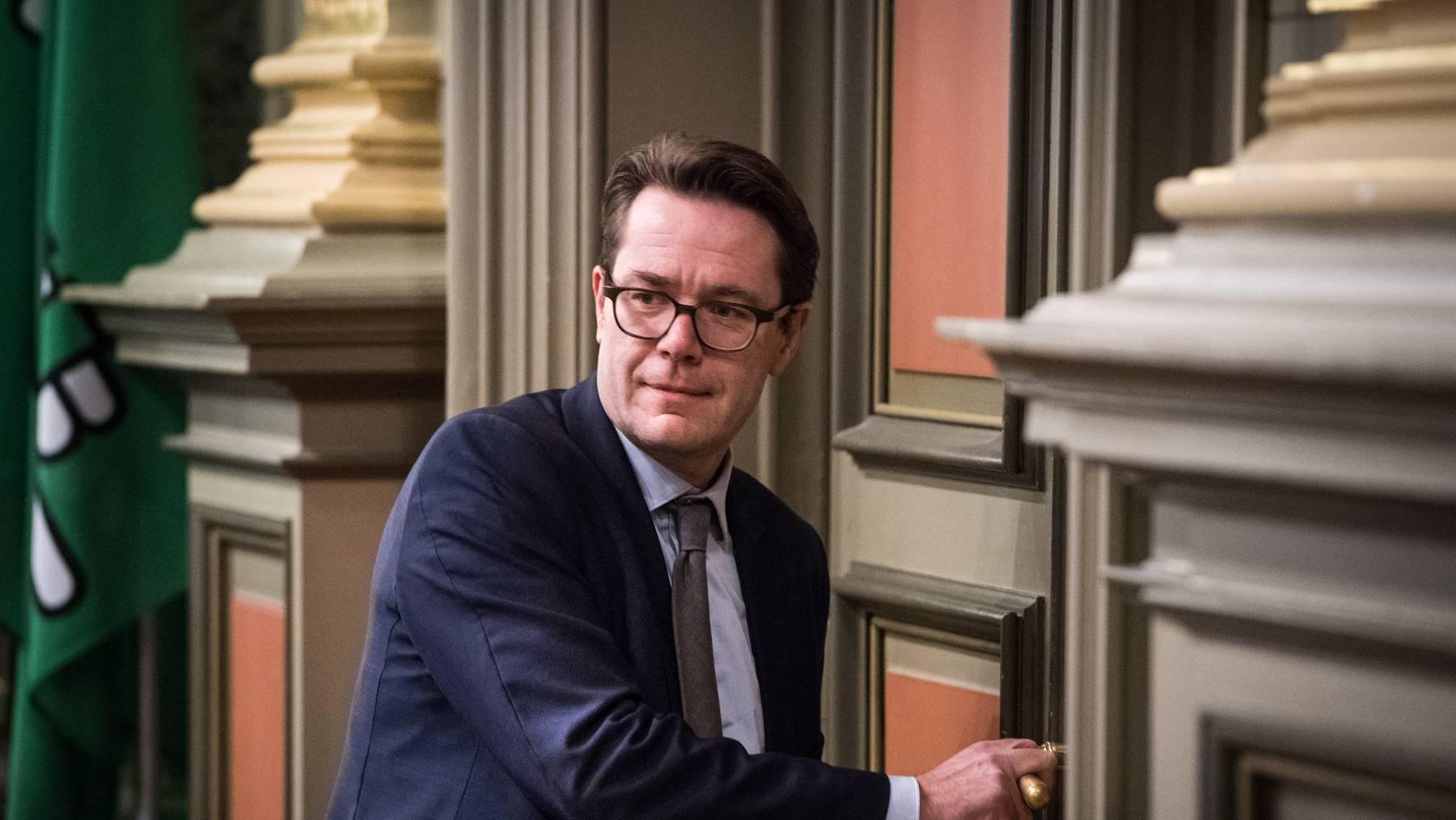 Finanzchef Beni Würth (CVP) warnte vor einer Steuersenkung.