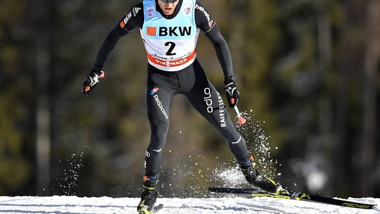 Geht als klarer Leader ins Tour-Finale: Dario Cologna