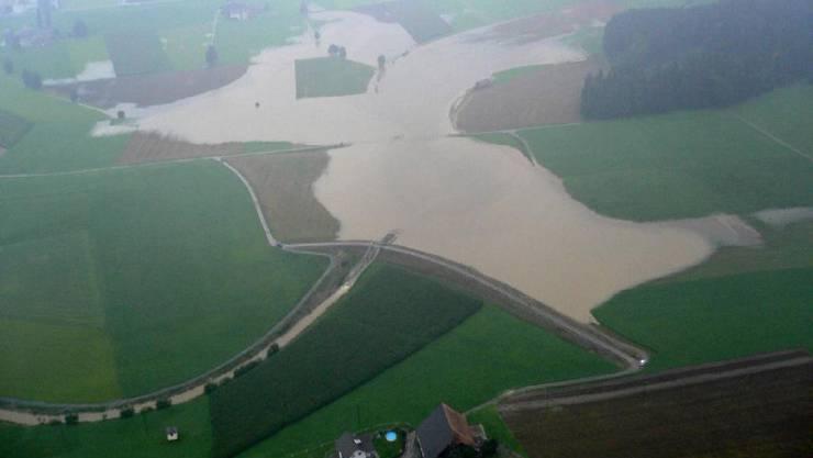 Landwirte werden entschädigt, Bauernhöfe geschützt
