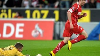 Bochum-Goalie Heerwagen hatte gegen Tosic gleich zweimal das Nachsehen