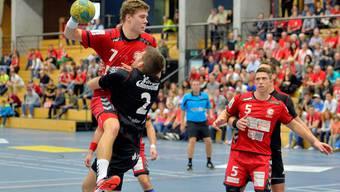 Impressionen vom Badener Handball-Derby