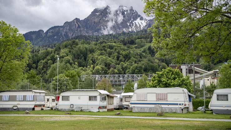 Die Schweizer Campingplätze dürfen bis auf weiteres nicht benutzt werden.
