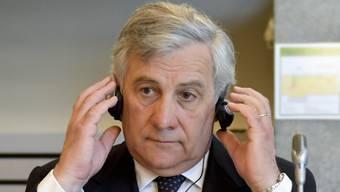 Der EU-Parlamentspräsident Antonio Tajani sagt in einem Interview, die EU-Mitgliedstaaten sollten nicht nur auf ihre eigenen Interessen schauen. (Archivbild)